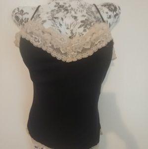 🌛 Nwot VS lace lingerie sleep top / shirt